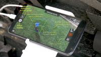 Her ser du hvordan trackingen ser ut fra telefonen. (Kilde: vertical.ai)
